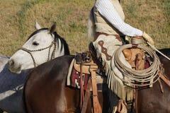 Equipo del vaquero imágenes de archivo libres de regalías