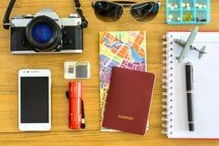Equipo del viajero Fotografía de archivo libre de regalías
