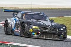 Equipo del Walkenhorst-Motorsport 24 horas de Barcelona Fotos de archivo libres de regalías