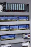 Equipo eléctrico de la automatización y del control Foto de archivo libre de regalías