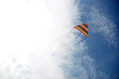 Equipo en el cielo Fotografía de archivo