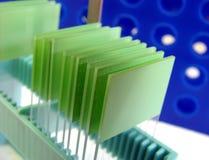 Equipo en laboratorio de investigación de la ciencia Foto de archivo libre de regalías