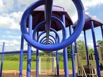 Equipo espiral del patio Fotos de archivo libres de regalías