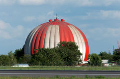 Equipo extraño del aeródromo Fotografía de archivo libre de regalías