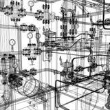 Equipo industrial Fotografía de archivo