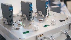 Equipo industrial - aparato electrónico - objeto de alta tecnología Fotografía de archivo