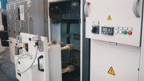 Equipo industrial - aparato electrónico - objeto de alta tecnología Imágenes de archivo libres de regalías