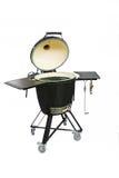 Equipo moderno para la preparación de la carne en el fuego Fotos de archivo