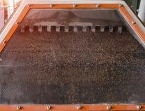 Equipo moderno para los cereales de limpieza de la ruina, la producción de granos alimenticios, industrial imagenes de archivo