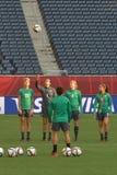 Equipo nacional de Australia Mundial de la FIFA Women's Fotos de archivo