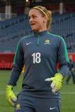 Equipo nacional de Australia Mundial de la FIFA Women's Imagen de archivo