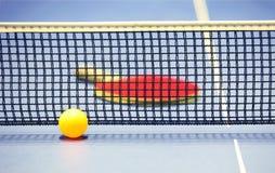 Equipo para el tenis de vector - raqueta, bola, vector Fotografía de archivo libre de regalías