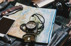 Equipo para el viaje Foto de archivo libre de regalías