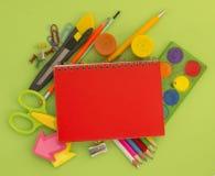 Equipo para la escuela Imagen de archivo libre de regalías