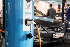 Equipo para los coches eléctricos Imagen de archivo