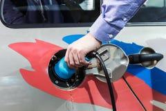 Equipo para los coches eléctricos Imagen de archivo libre de regalías