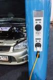Equipo para los coches eléctricos Imágenes de archivo libres de regalías