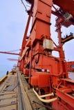 Equipo pesado del puerto Fotografía de archivo libre de regalías
