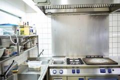 Equipo profesional de la cocina del restaurante Imagen de archivo