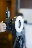Equipo profesional de la fotografía Fotografía de archivo libre de regalías
