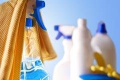 Equipo profesional de la limpieza Imagenes de archivo