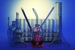 Equipo químico Imágenes de archivo libres de regalías