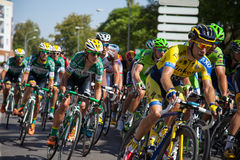 Equipo rural de Caja - etapa 2 de España Vuelta 2014 Imagen de archivo libre de regalías