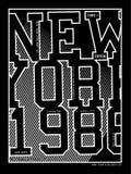 Equipo universitario 01 de la tipografía del vector Imagenes de archivo