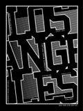 Equipo universitario 07 de la tipografía del vector Imagen de archivo