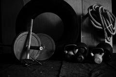 Equipo V del gimnasio de Crossfit imagenes de archivo