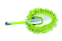 Equipo verde de la herramienta de la limpieza foto de archivo libre de regalías