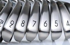 Equipos de golf Imagenes de archivo