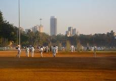 Equipos que practican el grillo en Bombay Fotografía de archivo libre de regalías