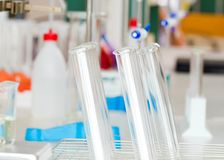 Equipped Chemistry Laboratory Royalty Free Stock Photo