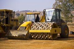 equipt tungt för konstruktionsarbetsuppgift arkivfoton