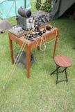 equiptment收音机 库存照片