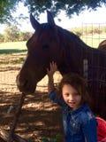A equitação é divertimento Fotografia de Stock