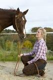 Equitação Imagens de Stock