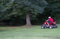 Equitação de ATV Fotografia de Stock