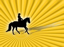 Equitation Royalty Free Stock Images