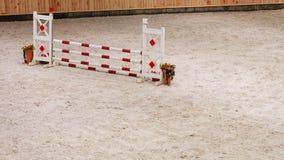 equitation Hindernis für springende Pferde lizenzfreie stockfotografie