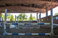 Equitation obstacles Stock Image