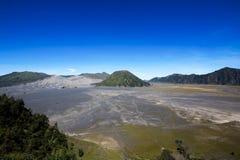 Equitazione in Bromo Vulcano East Java Indonesia fotografie stock