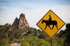 Equitazione di attenzione Fotografia Stock Libera da Diritti