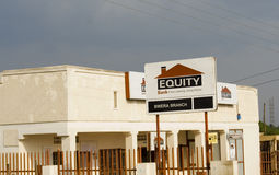 Equity Bank Royalty Free Stock Photo