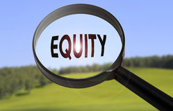 Equity royalty free stock images