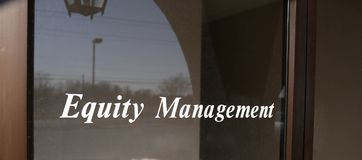 Equity Management Firm Stock Photography
