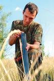 Eröffnung Jahreszeit der Jagd Stockbilder