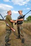 Eröffnung Jahreszeit der Jagd Stockfotografie