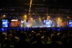 Eröffnungsfeier 2015 BlizzCon Stockfotografie